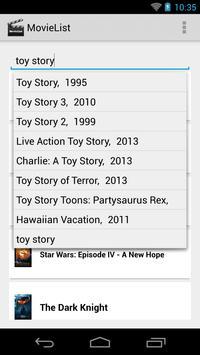 MovieList - Movie to-do list screenshot 3