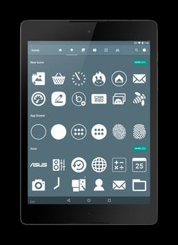 Flat White Icon Pack screenshot 4
