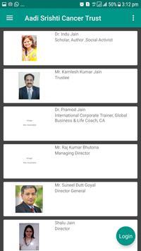 Aadi Srishti Cancer Trust apk screenshot