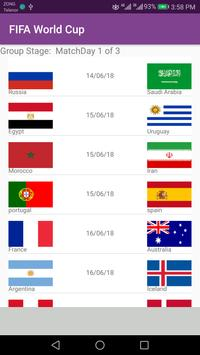 FIFA world cup 2018 Timetable For Pakistan - watch screenshot 2