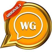 Wassup Gold Messenger 2017 icon