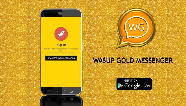 Wassup Gold Messenger 2017 screenshot 1