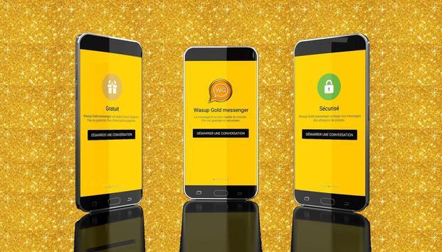 Wassup Gold Messenger 2017 screenshot 5