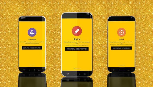 Wassup Gold Messenger 2017 screenshot 9