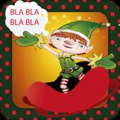 Talking Elf Christmas icon