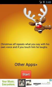 Talking Elf Christmas screenshot 2