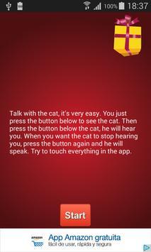 Christmas Talking Cat poster