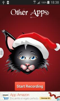 Christmas Talking Cat screenshot 1