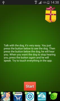 Christmas Talking Dog poster
