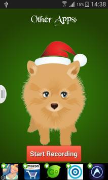 Christmas Talking Dog screenshot 1