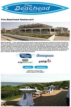 The Beachead Restaurant poster