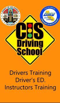 CIS Driving Schools poster