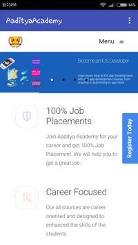 Aaditya Academy poster