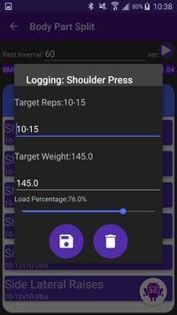 StrengthCalc apk screenshot