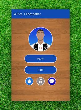 4 Pics 1 Footballer poster