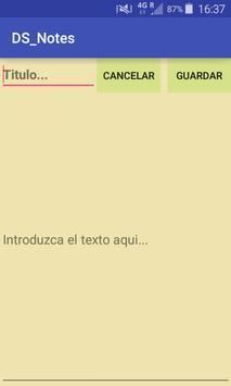 DS_Notes screenshot 3