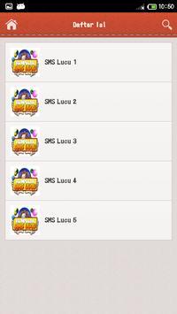 Kumpulan SMS Lucu apk screenshot