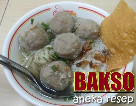 Resep Aneka Bakso poster