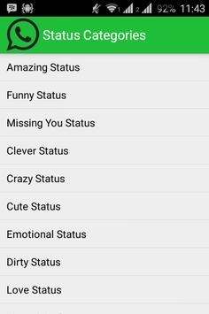Best Status For Whatsapp 2015 poster