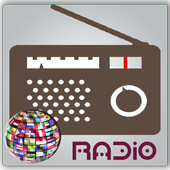 Radios world one application icon