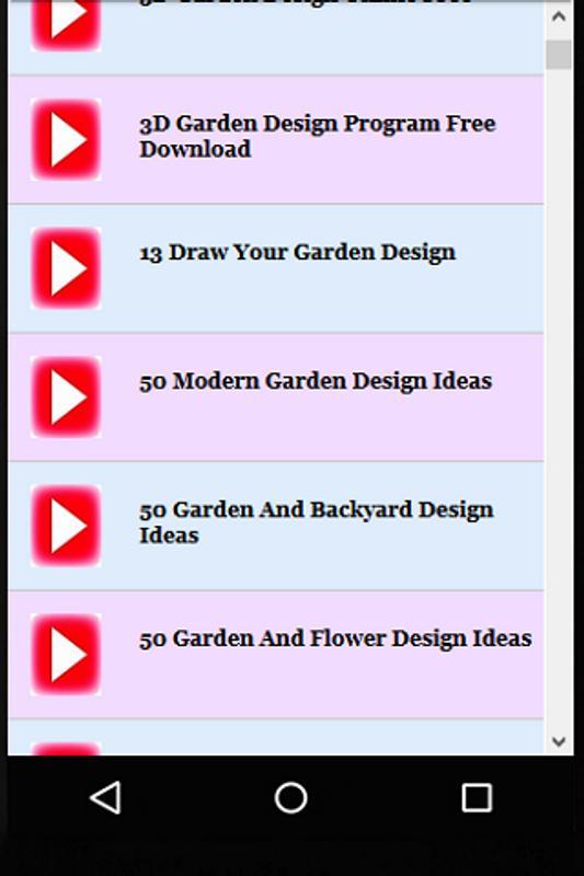 Creative Garden Designs Screenshot 5