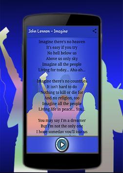 John Lennon 'Jealous Guy' apk screenshot