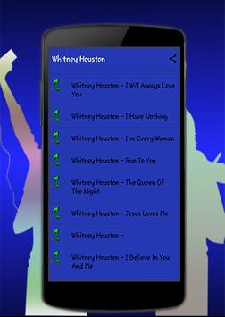 Whitney Houston 'I Will Always Love You' apk screenshot