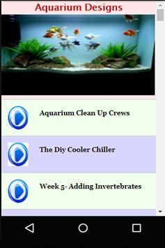 Aquarium Designs poster