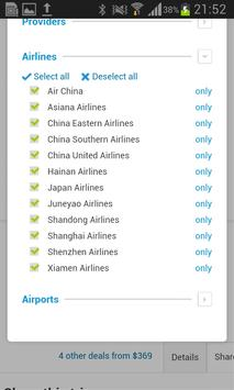 Cheap Airfares screenshot 21