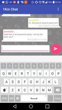 1km Chat apk screenshot