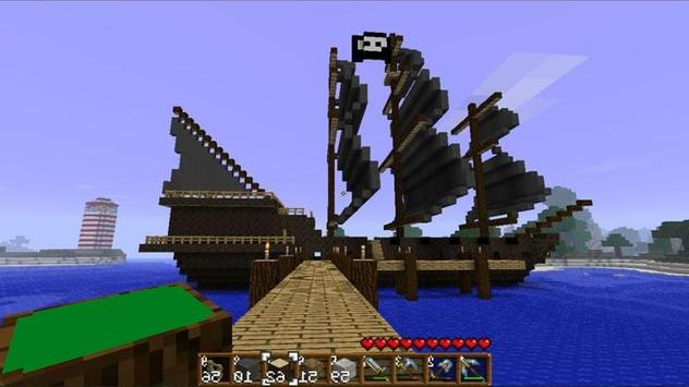 Pirate ship ideas in minecraft poster