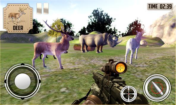 Jungle Animals Hunting apk screenshot