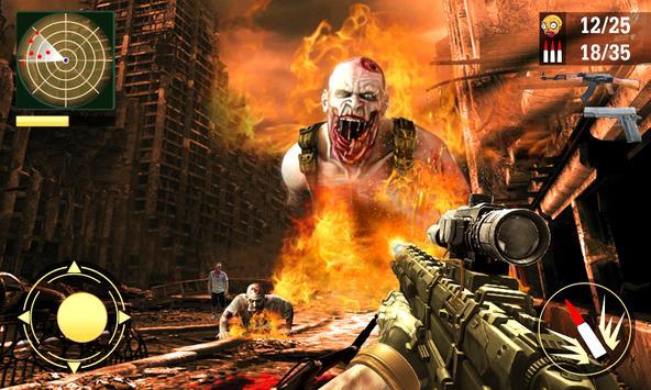 Zombie Shooting Ultimate Apocalypse 2018 apk screenshot
