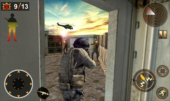 Commando Assassin Shooting 3d screenshot 2