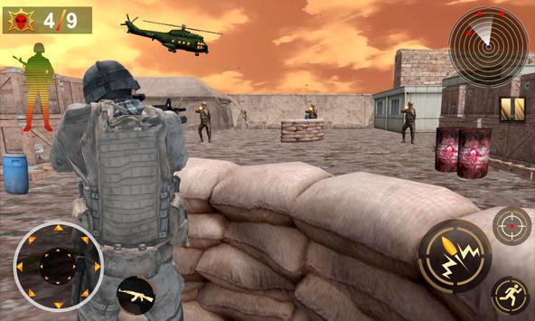 Commando Assassin Shooting 3d screenshot 10