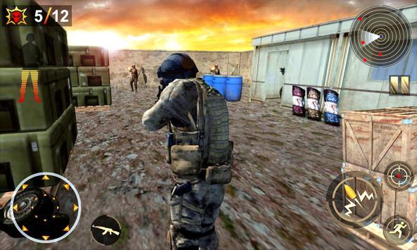 Commando Assassin Shooting 3d poster