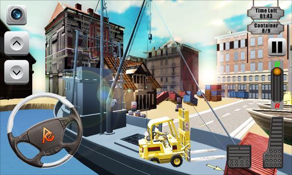 Drive Forklift Simulator 3D apk screenshot
