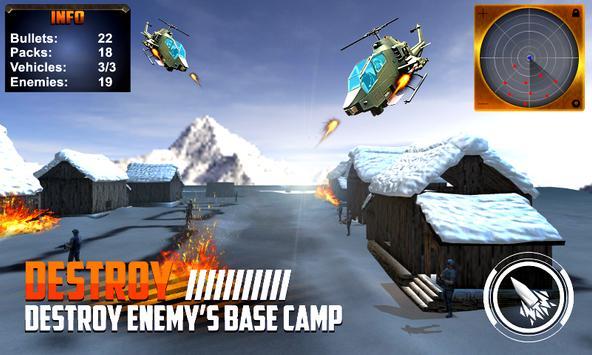 Helicopter Gunship War apk screenshot