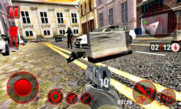 Shoot Hunter 3D: Commando Missions Hostage Rescue screenshot 8