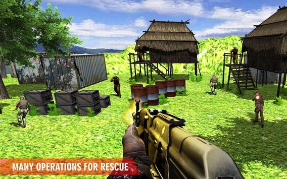Shoot Hunter 3D: Commando Missions Hostage Rescue screenshot 2