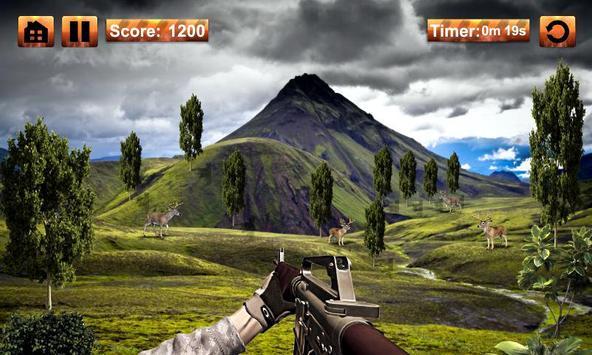 Deer Hunting Sniper Game apk screenshot