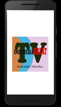 TV Online Indonesia Great poster