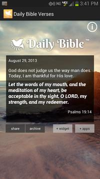 Daily Bible Verses poster