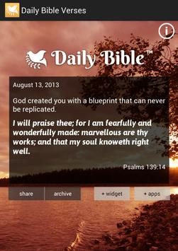 Daily bible verses apk download free books reference app for daily bible verses apk screenshot malvernweather Gallery