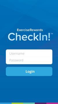 ExerciseRewards CheckIn! poster