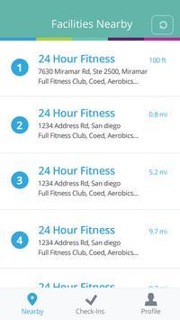 ExerciseRewards CheckIn! screenshot 2