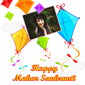 Makar Sankranti Greetings Card Maker For Wishes icon