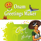 Onam Greetings Maker For Onam Messages & Images icon