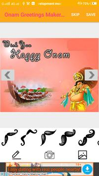 Onam Greetings Maker For Onam Messages & Images screenshot 1