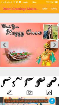 Onam Greetings Maker For Onam Messages & Images screenshot 2